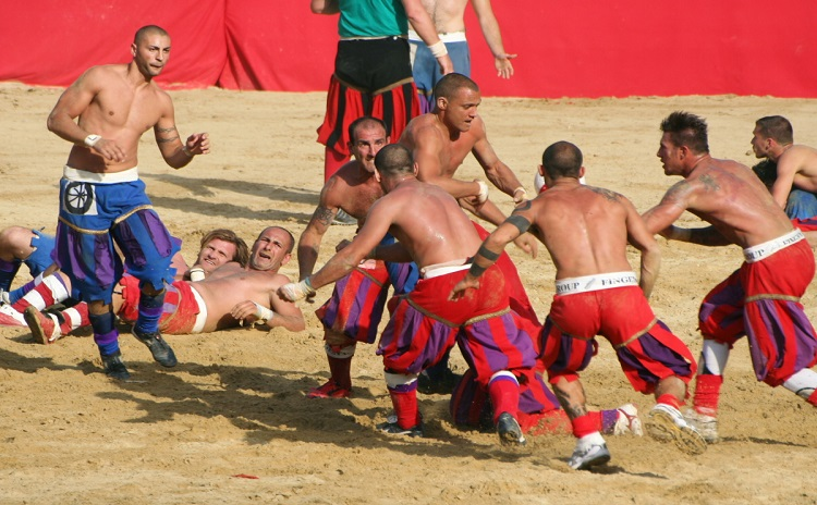 Historical Football Game - Florence